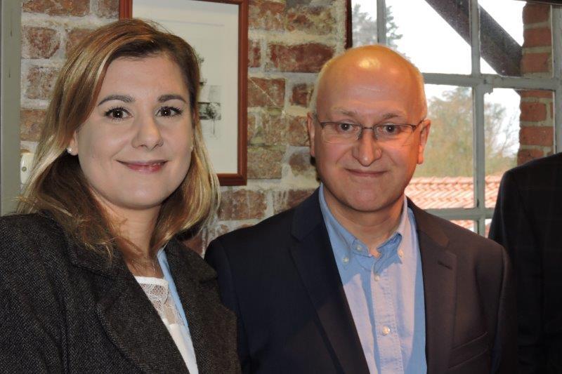 Sabrina Jacob und Norbert Koch